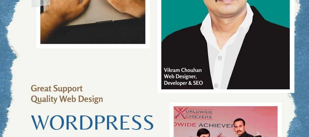 Vikram Chouhan : WordPress Designer in Udaipur