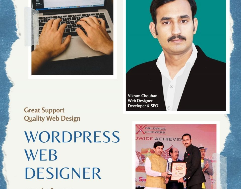 Vikram Chouhan : WordPress Designer in Udaipur